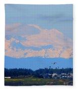 Mt. Baker Of Pacific Northwest Fleece Blanket