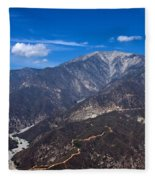 Mt. Baldy Fleece Blanket