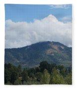 Mt Baldy Panorama From Grants Pass Fleece Blanket