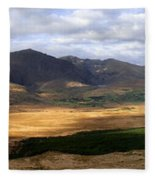 Mt. Brandon Panorama Fleece Blanket