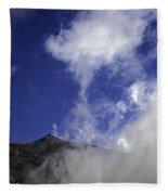 Mt. Etna  Fleece Blanket