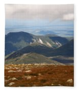 Mt. Katahdin Tablelands Fleece Blanket