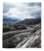 Mt. St. Helen's National Park 3 Fleece Blanket
