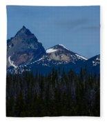 Mt. Thielsen Fleece Blanket