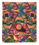 Much More Than A Face - A Joy Of Design Series Compilation Fleece Blanket