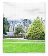 Muckross Castle Fleece Blanket