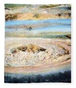 Mud Geyser Yellowstone Np 1928 Fleece Blanket