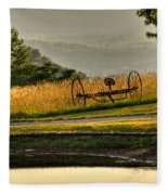 Muddy Pond Field Fleece Blanket
