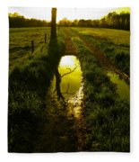 Mudhole Mirror Fleece Blanket