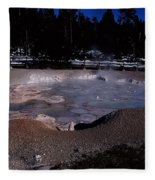 Mudpots Area I V Fleece Blanket