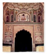 Mughal Art Fleece Blanket