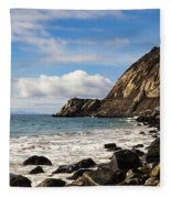 Mugu Rock Fleece Blanket