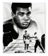 Muhammad Ali The Greatest Fleece Blanket