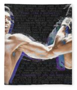 Muhammad Ali Fleece Blanket