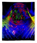 Mule #14 Enhanced Image 2 Fleece Blanket