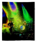 Mule #7 Enhanced Image In Cosmicolor Fleece Blanket