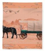 Mule Days - Westmoreland Tn  9-28-13  2 Fleece Blanket