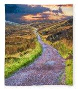 Mull Of Kintyre Fleece Blanket