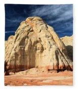 Multi-colored Mound Fleece Blanket