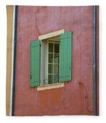 Multicolored Walls, France Fleece Blanket