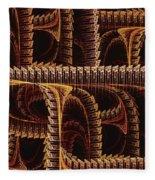 Multidimensional Passages Fleece Blanket
