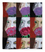 Multiple Personalities Fleece Blanket