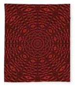 Multiplicity Mandala 16x9 Fleece Blanket