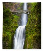 Multnomah Panorama Fleece Blanket