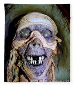 Mummified Mike Fleece Blanket