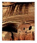 Mummy Cave Ruin Fleece Blanket