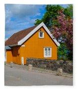 Munch's House Fleece Blanket