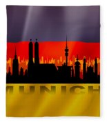 Munich City Fleece Blanket