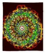 Murano Glass - Red Fleece Blanket