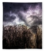 Murder Once A Year Fleece Blanket