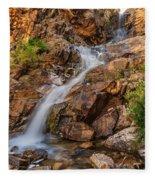 Murdock Basin Falls 2 Fleece Blanket