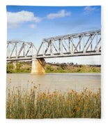 Murray Bridge Fleece Blanket