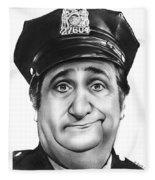 Murray The Cop Fleece Blanket