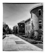 Murrow Complex East - Washington State University Fleece Blanket