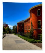 Murrow Hall - Washington State University Fleece Blanket