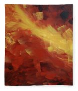 Muse In The Fire 1 Fleece Blanket