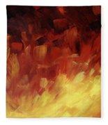 Muse In The Fire 3 Fleece Blanket