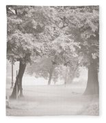 Museum Park Fog Fleece Blanket