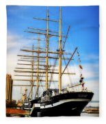 Mushulu At Penns Landing Fleece Blanket