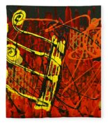 Music 1 Fleece Blanket