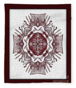 Music And Lace Fleece Blanket