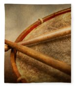 Music - Drum - Cadence  Fleece Blanket