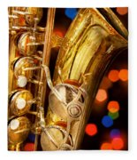 Music - Sax - Very Saxxy Fleece Blanket