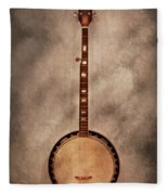 Music - String - Banjo  Fleece Blanket