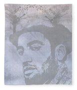 Musical Mind Of Ben Harper Fleece Blanket