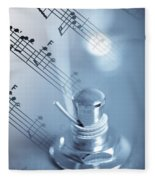 Musical Tune Fleece Blanket